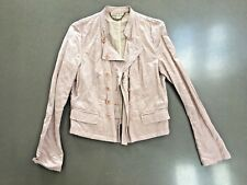 SEE BY CHLOE DUSKY PINK JACKET SIZE UK14. DOUBLE BREASTED