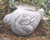 Latex bird mold plaster concrete casting garden mould