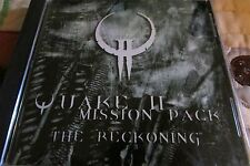 QUAKE II THE RECKONING MISSION PACK EXPANSION PACK PC COMPUTER VIDEO GAME
