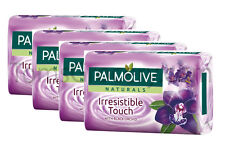 4 x Palmolive Naturals - Irresistible Touch - Black Orchid Pampering Bar Soap