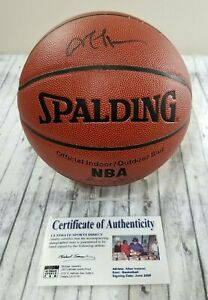 Allen Iverson Signed Full Size Basketball AUTOGRAPHED Ultimate Sports Direct COA