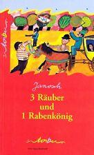 3 Räuber und 1 Rabenkönig von Janosch NEU