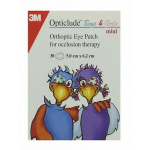 OPTICLUDE EYE PATCHES 5X6.2CM COLORFUL