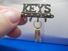 KEY OR COAT HANGER WITH SET OF KEYS FOR A DOLLS HOUSE