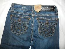 WOMENS JEANS = LA IDOL USA = SIZE 1 27/34 = NEW = ss12
