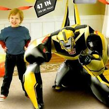 "NEW Transformers Bumble Bee 47"" 3D JUMBO AIRWALKER PARTY FOIL BALLOON SUPPLIES"