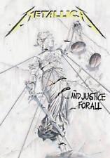 METALLICA premium fabric poster  JUSTICE