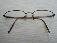 Emporio Armani Bronze metal spectacle frames