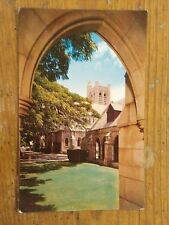 Vintage Postcard St. Andrew's Cathedral, Queen Emma Square, Honolulu, Hawaii