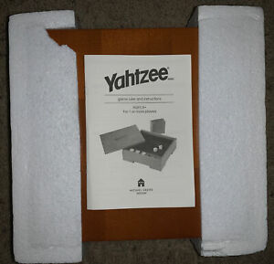 Michael Graves Design YAHTZEE Dice Game Limited Edition Wood
