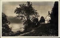 Klösterl Oberbayern Bayern AK 1931 Walchensee Kloster Verlag Hubers ungelaufen