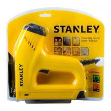 NEUF STANLEY ELECTRIQUE T50 Agrafe & BRAD / Broche ongles Fixation Pistolet