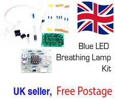 EDUCATIONAL Breathing Lamp Electronic Practice PCB Soldering LM358 Blue LED Kits