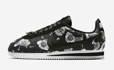 4eabbf0604 New Nike Women's Classic Cortez LX FLORAL Shoes (AV1338-001) Black/Black