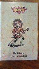 XTC The ballad of peter pumpkinhead single cassette (1992)