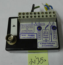 PHMA  2-WIRE TRANSMITTER , PH to 4-20ma Transmitter or Controller