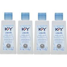 4 Pack K-Y Liquid Personal Lubricant 5 oz Each
