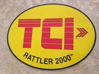 V8 SUPERCARS TCI TRANSMISSIONS RACING STICKER- BIG 210MM DRAG,DRIFT FORD HOLDEN