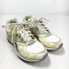 Reebok EasyTone Smooth Fit Women 6 White Silver Toning Running Training Shoes
