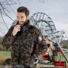 giubbotto uomo mimetico imbottito caccia softair esercito camouflage invernale