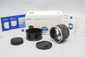 Zeiss Planar 85mm f/1.4 f1.4 ZE  T* Lens for Canon EF Mount, Boxed