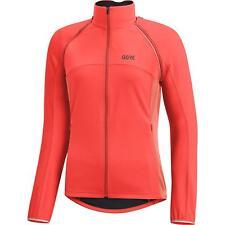 Womens RED GORE WINDSTOPPER PHANTOM C3 Zip Off Cycling Jacket UK 12