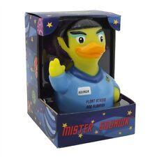 Mr. Squawk Alien CelebriDuck Rubber Duck Star Trek Vulcan fans pointy ears