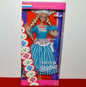 """Barbie Dolls Of The World Dutch Doll Collector Edition 12"""" Vtg 1993 Toy New"""
