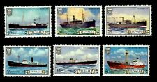 TUVALU 1978  Navy  Fleet   Ships  Maritime Ocean MNH set  Vintage  Unused stamps