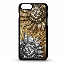 Sun & moon aztec mayan tribal print pattern tattoo art graphic phone case cover