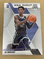 2019-2020 Ja Morant Rookie Card #274 Panini Mosaic NBA Debut Grizzlies RC