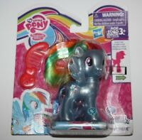 "My Little Pony The Movie All About RAINBOW DASH 3"" brush NEW"