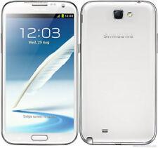 "SAMSUNG GALAXY NOTE II 2 N7100 16GB 5.5"" Desbloqueado Fábrica Smartphone Blanco"