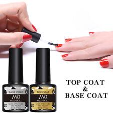 8ml MAD DOLL  Top Coat and Base Coat Gel Nail Soak Off Nail Gel DIY Nai