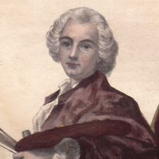 Claude Joseph Vernet Desssinateur Graveur Peintre Peinture marine
