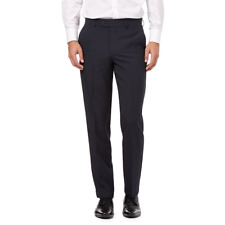 Debenhams The Collection Navy Flat Front Slim Trousers 38L TD083 LL 12