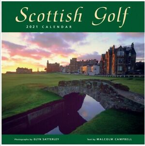 Scottish Golf Calendar 2021