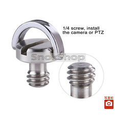 1/4 inch MALE THREAD SCREW C-RING FOR QUICK RELEASE TRIPOD DIGITAL CAMERA VIDEO