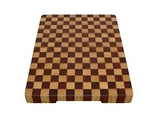 Wood, Handmade, Cutting Board End Grain with Feet, Butcher Block, Chopping Board