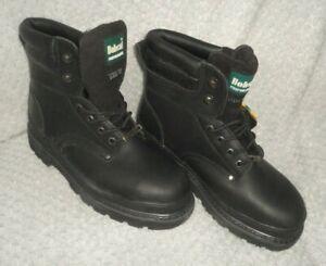 Bobcat Performance Black Men's Boots Size 8UK EU42 Steel Toe Caps 402-P9412