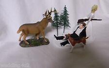 Wedding Party Reception Deer Dog Hunter Redneck Hunting Cake Topper