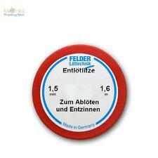 (2,12 €/ M) 1,6m Felder Entloetlitze 1,5mm Wide, Wick Tape, Braid for Desolder