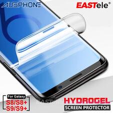 Samsung Galaxy S9 S8 Plus EASTele HYDROGEL AQUA FLEX Clear Screen Protector