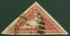 EDW1949SELL : CAPE OF GOOD HOPE 1863-64 Sc #12a Reddish Brown VF, Used Cat
