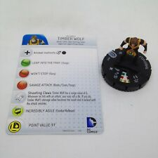 Heroclix Superman and Legion set Timber Wolf #015 Common figure w/card!