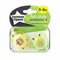 Tommee Tippee Fun Style 0-6m Amarillo y Verde