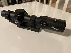 SIG SAUER Tango4 4x24mm Riflescope - Black (SOT41111)