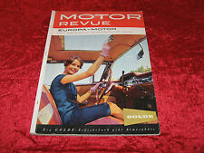 Motor Revue - Europa-Motor - Heft 31, Herbstausgabe 1959