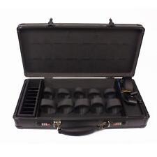 HairArt Barber Case Matte Black, Black & Black #791540 Barber Kit Tool Case, To