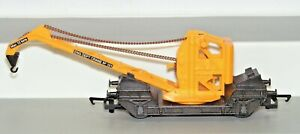 Hornby 00 Gauge R6004 Eng Dept Crane Wagon No 101 Dual Action Chains Used Unboxe